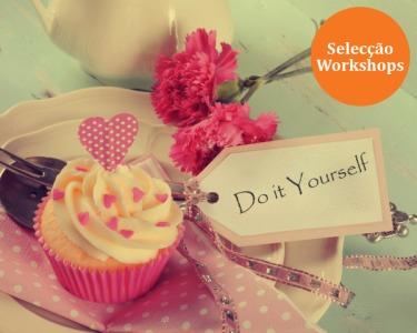 Presente Top Workshops num de 24 Locais à Escolha