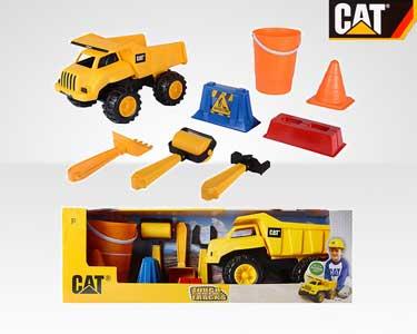 Camião Carga 35cm da CAT® com Acessórios de Construção