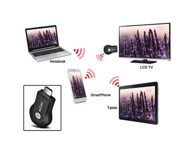 Pen Universal WiFi e HDMI EZCast® | Streaming Multimédia Para a TV HD