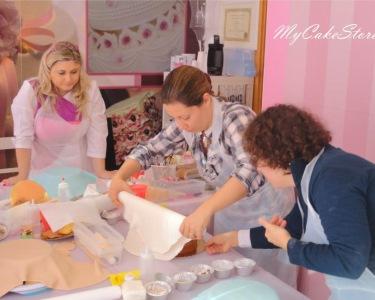 Workshop Cake Design | Nível I ou Nível II - Adoce a Boca de Quem Ama