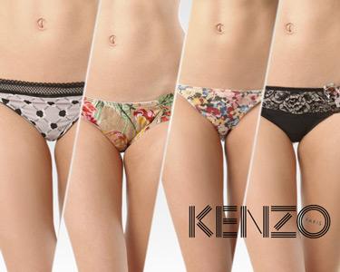 Cuecas de Senhora Kenzo® | 7 Modelos Disponíveis