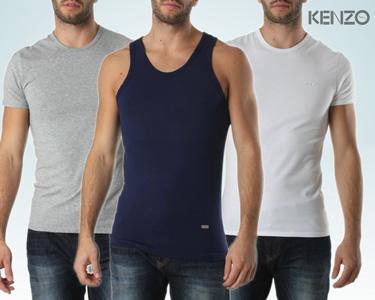 T-Shirts Básicas Interiores para Homem da Kenzo®