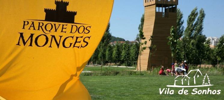 Noite em Família & Entradas para Vila de Sonhos no Parque dos Monges