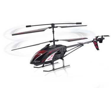 Helicóptero GHOST III R/C 3.5 CH Anti-Choque - 56cm
