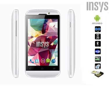 Smartphone Insys® Dual Sim com GPS e Android 4.2