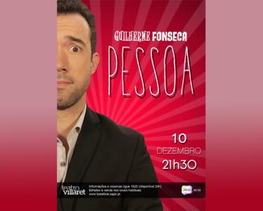 «Pessoa» | 10 de Dezembro | Teatro Villaret