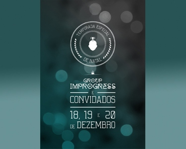 «Group Improgress e Convidados» | Espectáculo de Comédia | Teatro Villaret