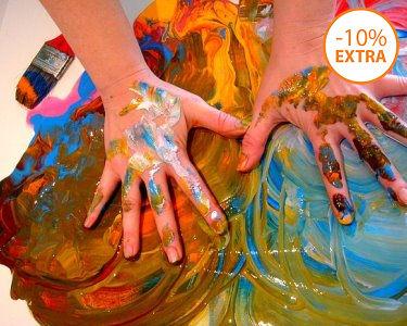 Introdução à Arte-Terapia em 3 Horas | 1 ou 2 Pessoas | Campo Grande