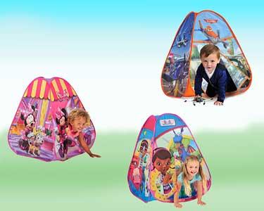 Tenda de Actividades Infantil | Minnie, Planes ou Doutora Brinquedos