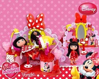 Cabeleireiro I Love Minnie | Boneca & Acessórios