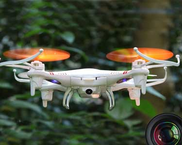 Drone Quadcopter com Câmara Incorporada e Luzes LED