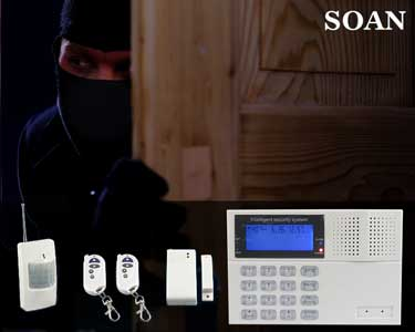 Kit Alarme Casa c/ Sensores de Portas e Detetores de Movimento | Soan®