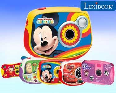Máquina Fotográfica Lexibook® - 8GB | As Minhas Primeiras Fotos & Vídeos