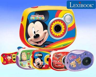 Máquina Fotográfica Lexibook® | As Minhas Primeiras Fotos & Vídeos