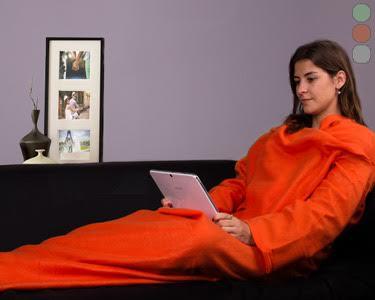 Manta com Mangas | Conforto & Aconchego da Cabeça aos Pés