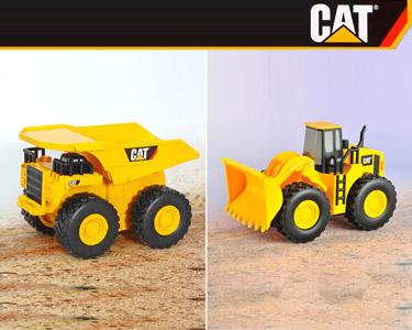 Camião Construção ou Carregadora CAT® 21cm
