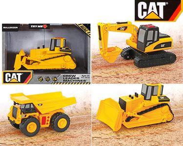 Veículos de Construção CAT® 15 cm com Luz e Sons