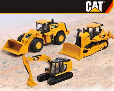 Veículos de Construção CAT® em Metal