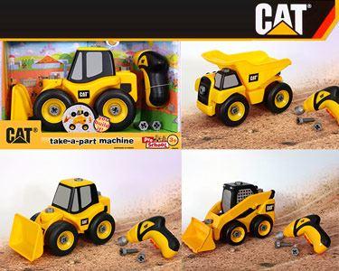 Máquinas de Construção CAT® com Acessórios
