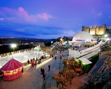 Noite no Vale Grande Hotel + 2 Entradas no Óbidos Vila Natal