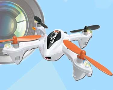 Drone Quadcopter com Câmara & Luzes LED | Voa em 6 Direcções