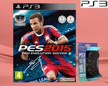 PES 2015 com Comando para a PS3