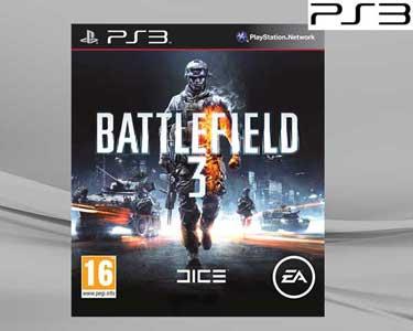 Jogo Battlefield 3 para a PS3 + Comando