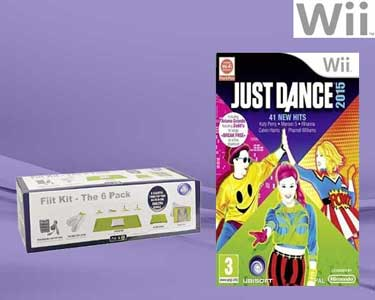 Just Dance 2015 com Kit Fit para a Wii
