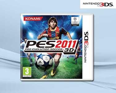 Jogo 3DS Pro Evolution Soccer 2011
