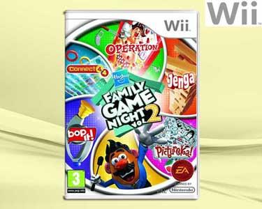 Jogo Wii Hasbro Family Game Night Volume 2