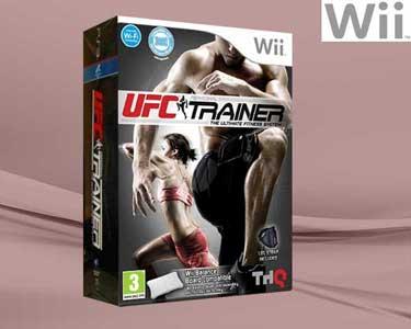 Jogo Wii - UFC Personal Trainer com Cinto
