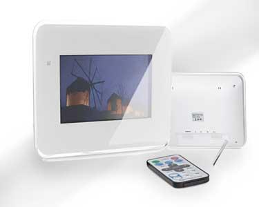 Moldura Digital LCD de 7 | Imagem, Som e Vídeo