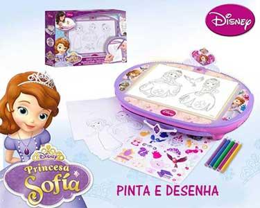 Ilumina & Desenha com a Princesa Sofia