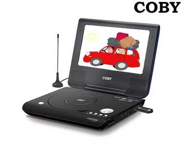 DVD Portátil Digital 7´´ com Leitor USB