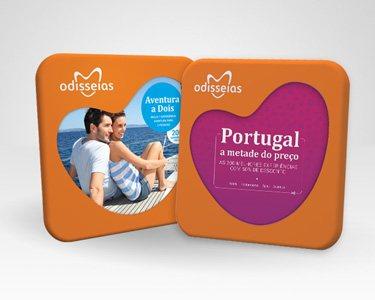2 Presentes: Aventura a Dois + Portugal a Metade do Preço