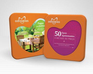 2 Presentes: Fugas com Jantar + 50 Spas a Metade do Preço