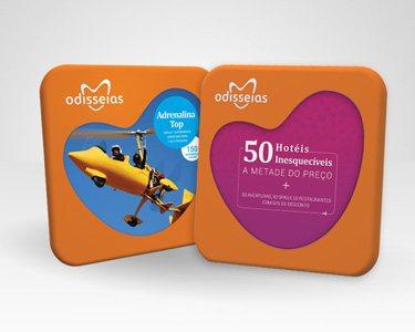 2 Presentes: Adrenalina Top + 50 Hotéis a Metade do Preço