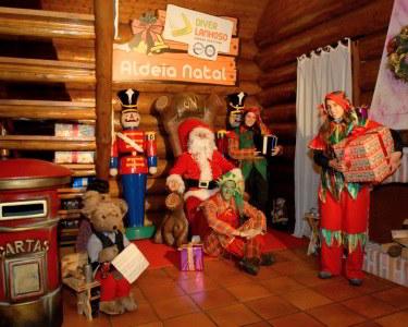 Noite nos Hotéis Bom Jesus 4* em Braga + Entradas na Aldeia Natal