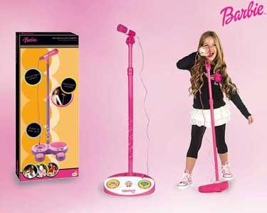 Microfone com Amplificador da Barbie®