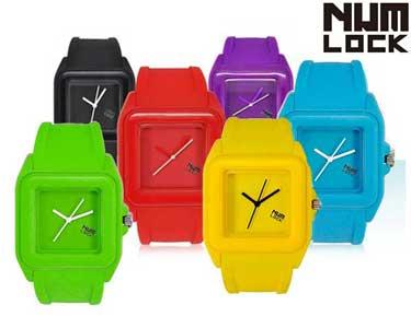 Relógios NumLock® Colour Psycho | Escolha a Cor