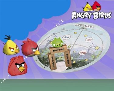 O Grande Jogo de Acção Angry Birds