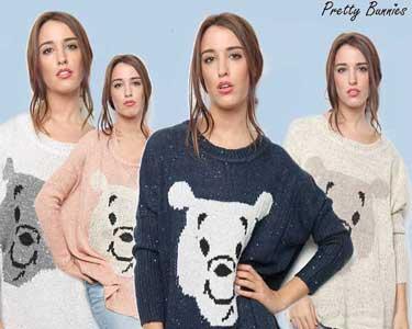 Camisola Pretty Bunnies | Escolha a Cor