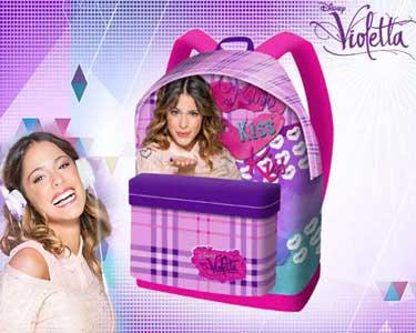 Mochila da Violetta | Modelo Kiss