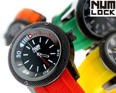 Relógios NumLock® Racer for Men   Cor à Escolha
