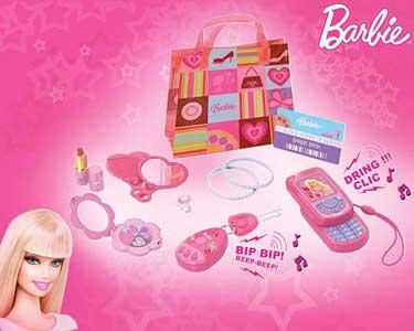 Bolsa com Acessórios Barbie | Super Fashion