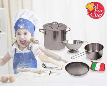 Conjunto Master Chef para Criança | 10 Peças