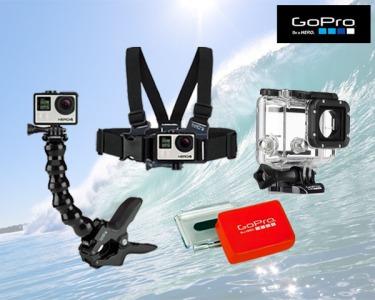 Acessórios para a GoPro®