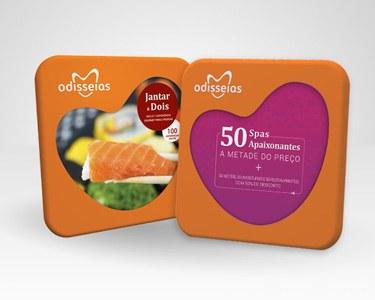 2 Presentes: Jantar a Dois + 50 Spas a Metade do Preço