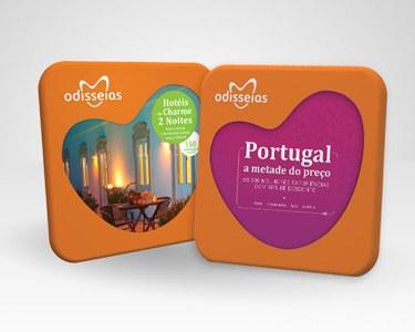 2 Presentes: Hotéis de Charme 2 Noites + Portugal a Metade do Preço