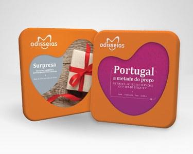 2 Presentes: Surpresa + Portugal a Metade do Preço